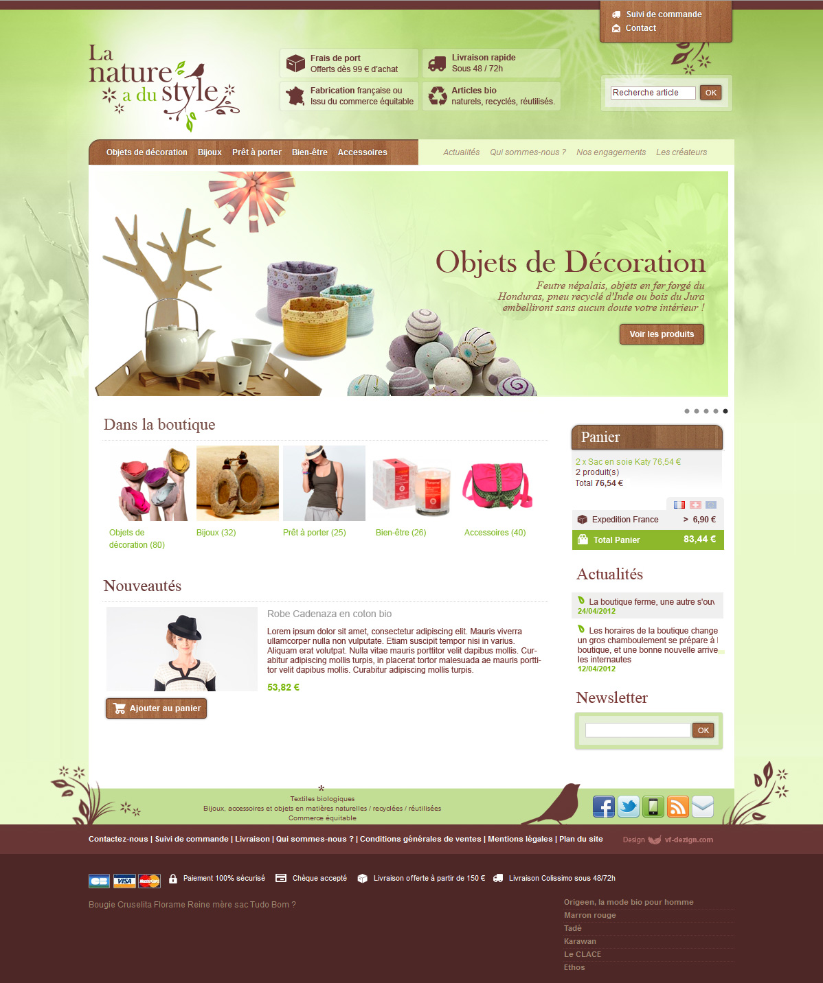 Webdesign site