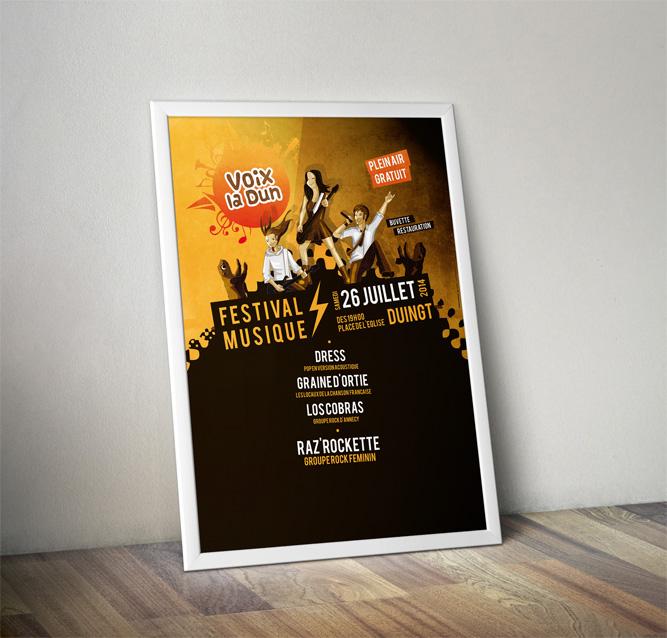Affiche Illustration Festival