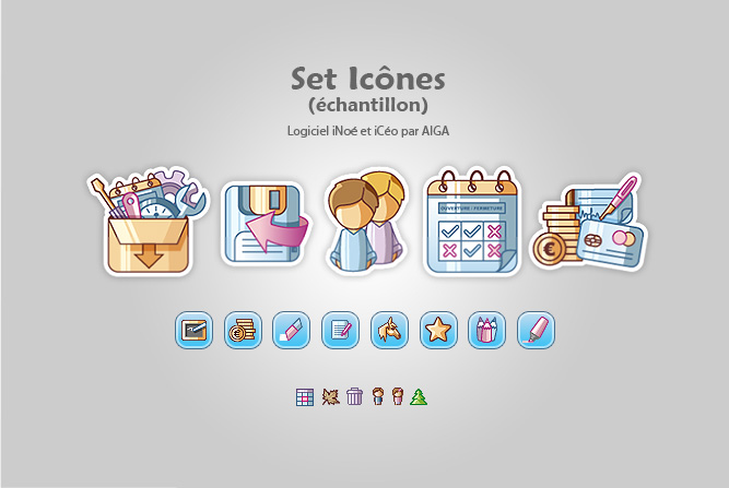 Création Set Icônes